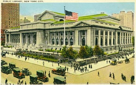 NYC_Public_Library_postcard_1920