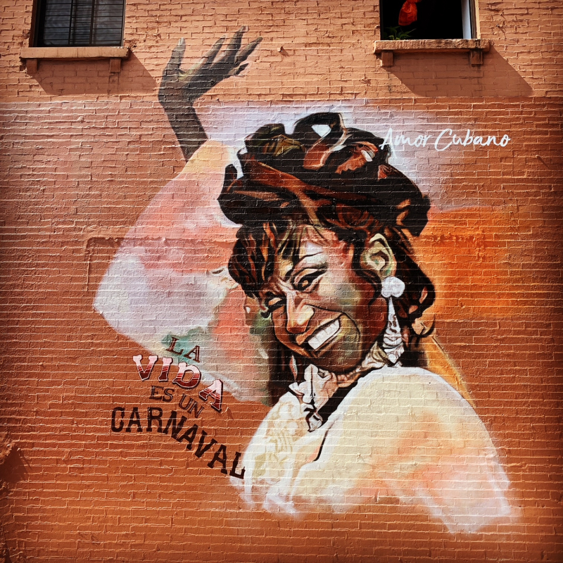 Celia Cruz mural